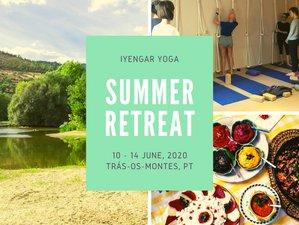 5 Days Iyengar Yoga Summer Retreat in Norte Region, Portugal