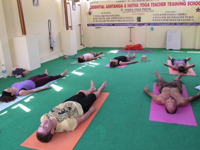 35 Days 300-Hour Yoga Teacher Training India