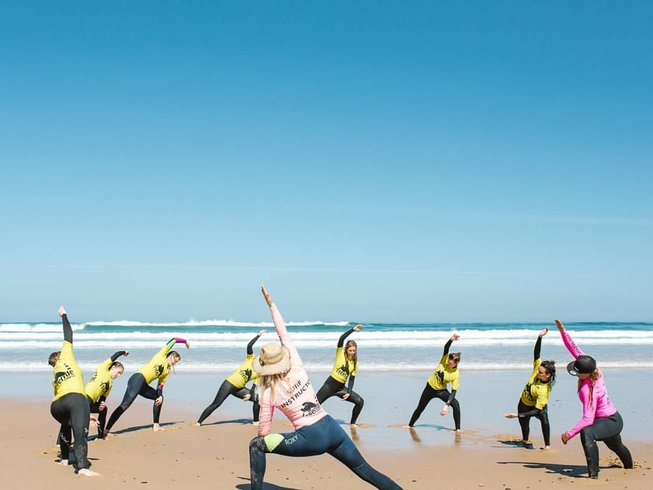 6 Days Boutique  Surf  and Yoga Retreat women only  in Burgau, Portugal