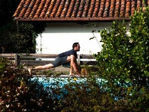3 jours en week-end de yoga, surf et atelier de cuisine vegan à Léon, Landes