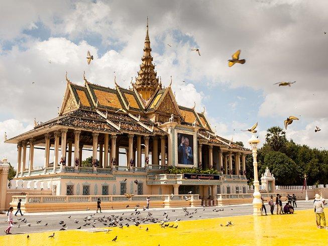 6 días retiro de yoga y maravillosos tours culturales en Camboya