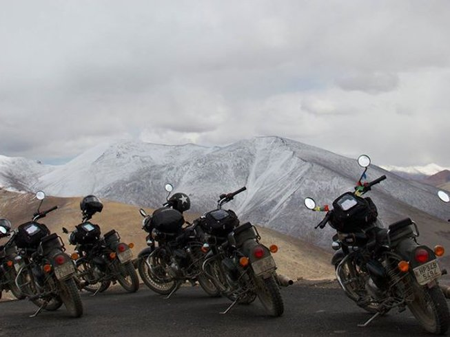 9 Days Motorcycle Tour to Pangi Valley, India