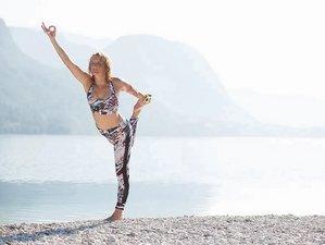 5 Day Custom Luxury SUP Yoga, Hatha, Vinyasa, Yang, and Restorative Yin Yoga Retreat in Bohinj