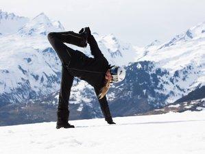 5-Daagse Ski en Full Moon Yoga Retraite in Frankrijk