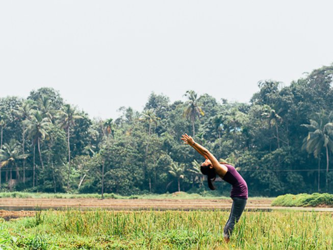 6 Days One Reality Ayurveda and Yoga Retreat in Kerala, India