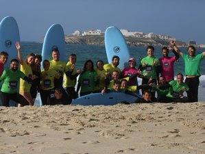 4 Day Low Ride Surf Camp in Baleal, Peniche