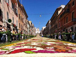 5 Days The Feast of Flowers - Corpus Domini & Culinary Holiday in Umbria