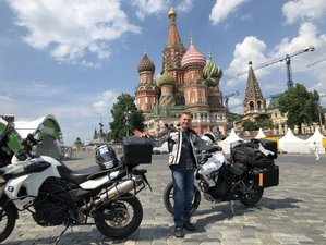 11 Day Moscow to Saint Petersburg Guided Motorcycle Tour in Russia