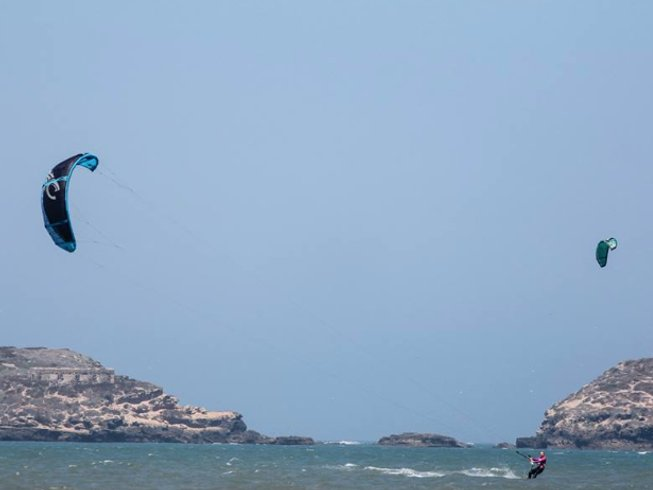 8 Days Deluxe Kiteboarding, Yoga & Surf Retreat in Morocco
