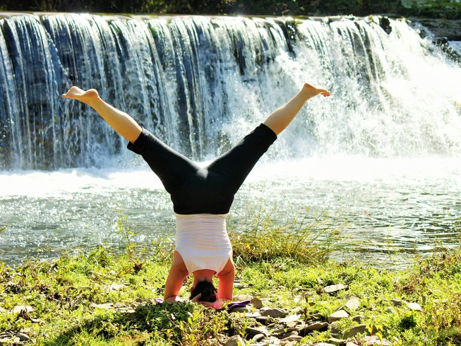 7-Daagse Voedende Yoga en Wellness Retraite in Oleiros, Portugal