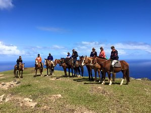 4 Day Relaxing Horse Riding Holiday on Easter Island