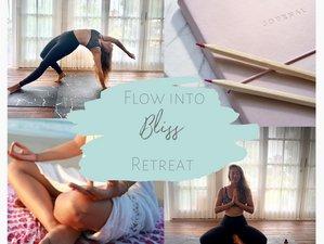 6 Tage Flow Into Bliss Online Yoga, Meditation und Coaching Retreat mit Tanja Hirsch