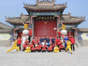 1 Year China Shaolin Martial Arts Academy - Shaolin, Sanda, Baji, Wing Chun, Tai Chi, Qigong