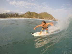 4 Days Lessons or Guiding Surf Camp in Tayrona, Colombia