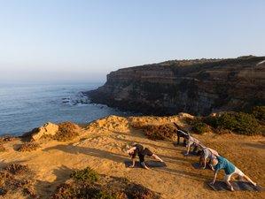 7 jours en stage de yoga, méditation et chocolat cru à Ericeira, Portugal