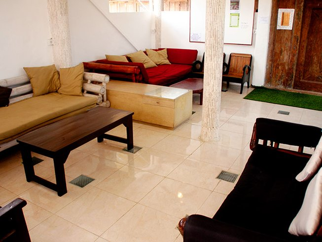 7 jours en stage de yoga pour célibataires à Serenity Ecoguesthouse 2 à Canggu, Bali