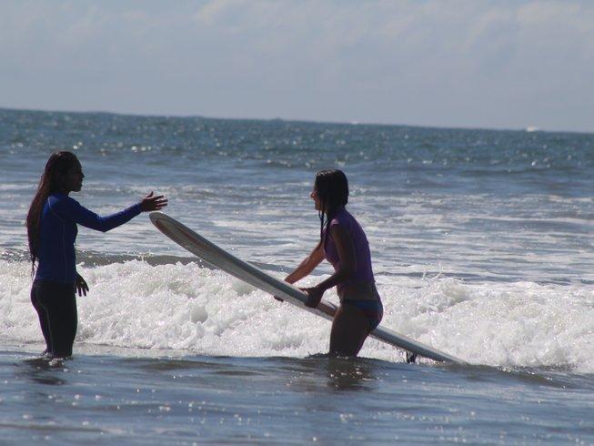 8 Days Women's Yoga and Surf Camp in Nosara, Nicoya, Costa Rica