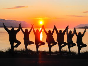 6 Day Summer Solstice Yoga Holiday in Akureyri