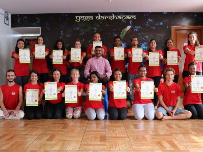 30 Days 200hrs Yoga Teachers Training in Mysore India