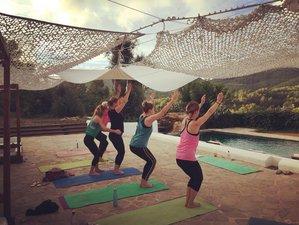 4 Day Sun, Sea, Sand and Santosha Yoga Holiday in Ibiza, Balearic Islands
