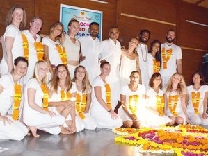 20 Days 200 Hours Yoga Teacher Training in Goa, India