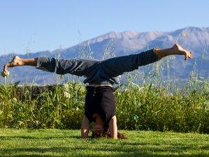 8 jours en stage de yoga en Crète, Grèce