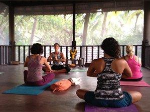 21 Tage Stadt-Gegenmittel Yoga Verjüngungs Urlaub in Goa, Indien