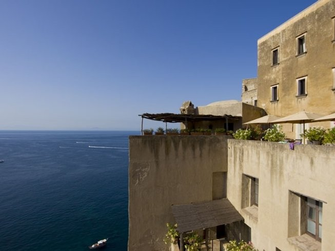18 Days 200-Hour Yoga Teacher Training in a Famous Seaview Castle in Ischia, Italy