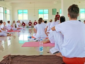 26 Days 200 Hour Yoga Alliance Accredited Yoga Teacher Training in Khajuraho, India