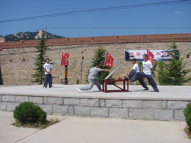 6 Months Chinese Kung Fu Training in Yantai, China
