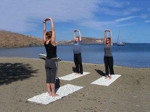 8 jours en stage de yoga et voile dans les Cyclades, Grèce