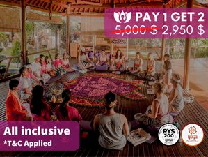 25 Day 200 Hours Yoga Teacher Training in Gianyar, Bali