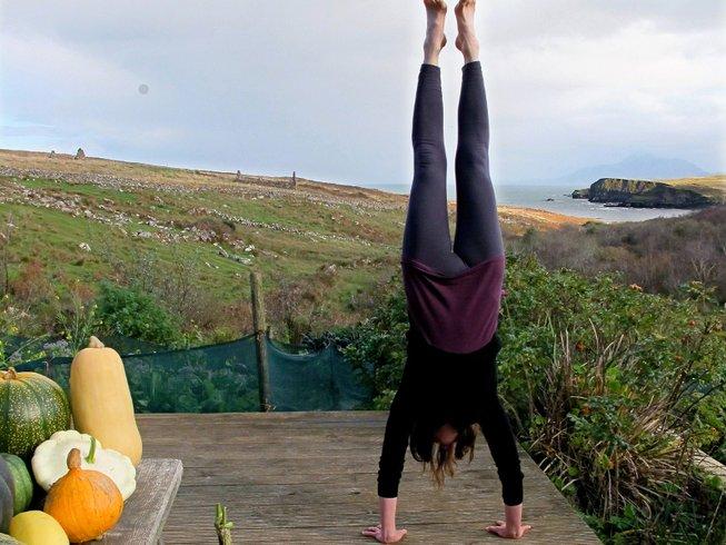 6 jours en stage de yoga pour se connecter avec les chevaux sur l'île de Clare, Irlande