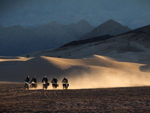 8 Days Dirt Bike Khongoriin Sand Dunes Motorcycle Tour in Mongolia