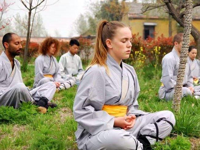 3 Months Shaolin Kungfu, Tai Chi & Wing chun Training at Maling Mountain, Xinyi, Jiangsu, China