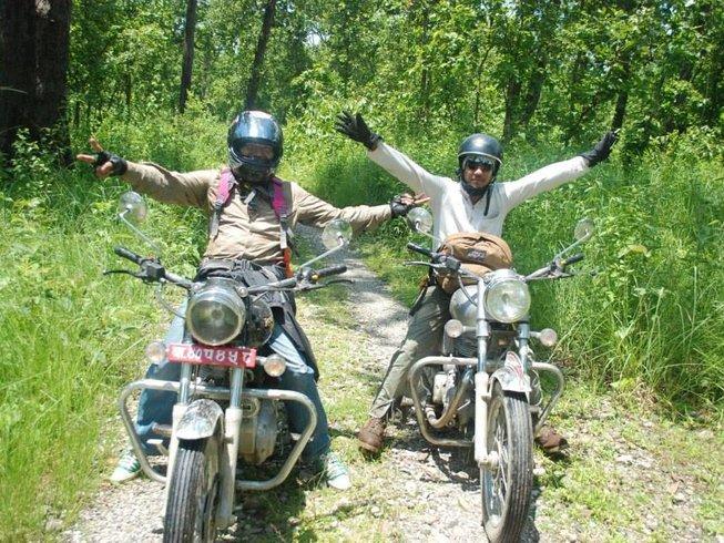 8 Days Kathmandu to Pokhara Circuit Motorcycle Tour Nepal