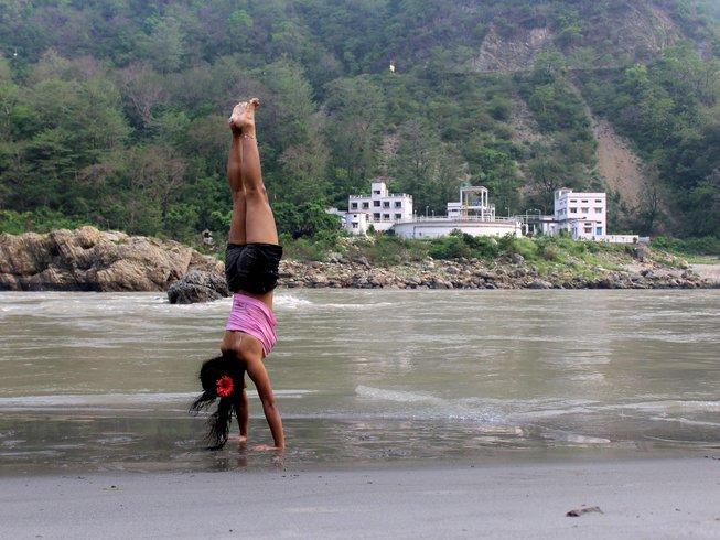 28 Days 200-Hour Ashtanga Vinyasa Yoga Teacher Training in Rishikesh, India