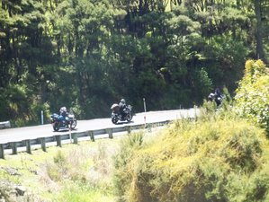 33 Days Self-Guided North to South Islands New Zealand Motorcycle Tour