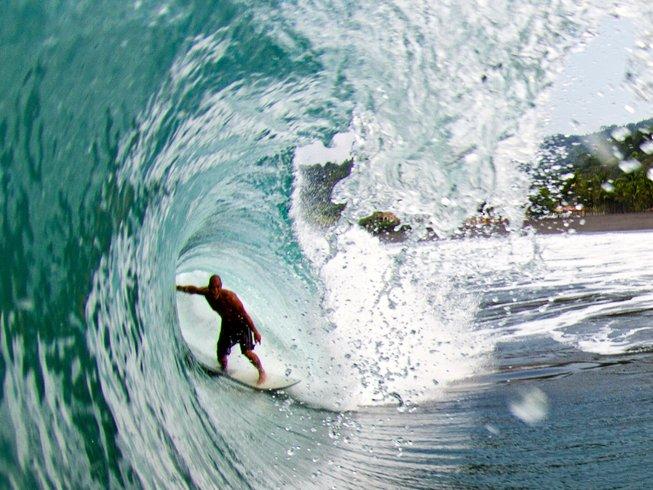 6 jours en stage de yoga et surf à Puntarenas, Costa Rica
