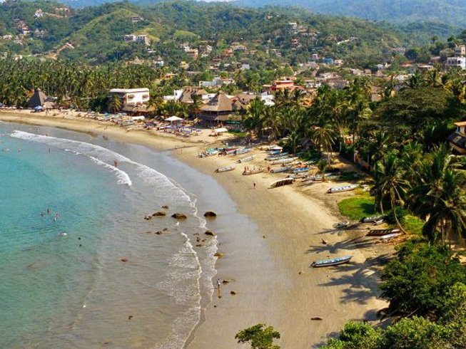 7 Days Rejuvenating Surf and Yoga Retreat Mexico