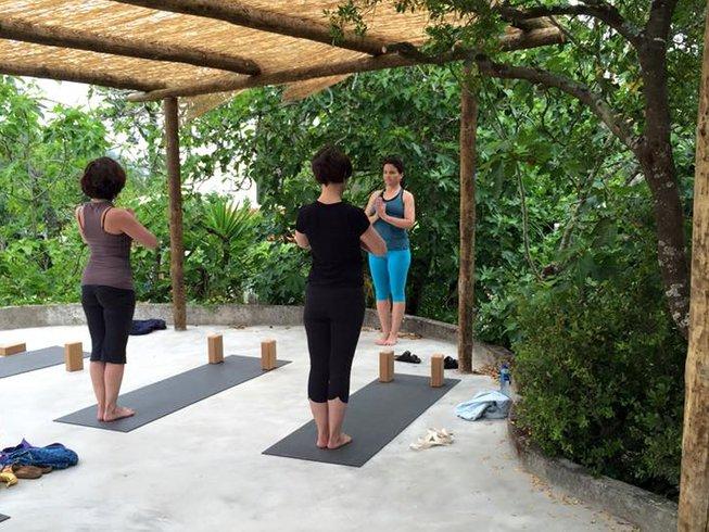 4 Tage Iyengar Yoga Urlaub in Columbeira, Portugal