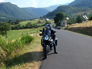 10 Day Auvergne and Cévennes Guided Motorcycle Tour in France