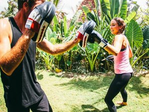 7 Day Active Fitness Holiday with Yoga, Meditation, HIIT, Boxing, and Surf in Gianyar, Bali