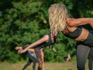 3 Tage Yoga Retreat mit Meditation im Eco Resort Into The Green im Steigerwald