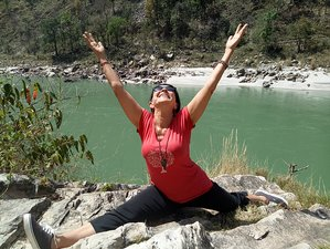11 Days 100-Hour Meditation, Flying Shiatsu, and Yin Yoga Teacher Training in Rishikesh, India