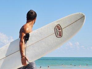 Longboard Surfen