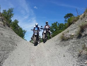 4 Day Guided Motorcycle Tour in Piedmont, Italy through Alps and Langhe