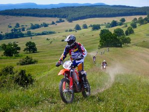 5 Days Medieval Adventure Guided Enduro Motorcycle Tour in Transylvania, Romania