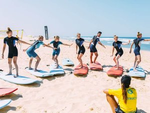 8 Days Intensive Beginner Surf Camp in Mimizan, France