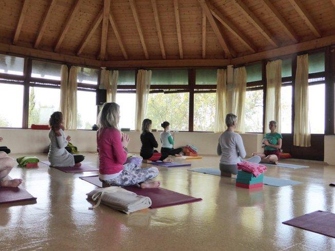 8 Days Intermediate Level Iyengar Yoga Retreat Portugal
